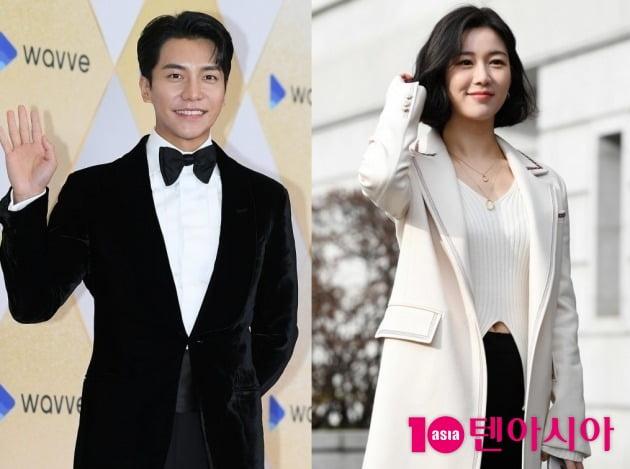 가수 겸 배우 이승기(왼쪽), 이다인. /텐아시아DB