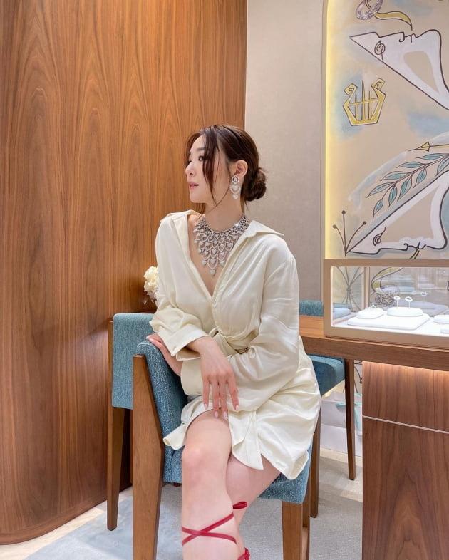 티파니, 반지가 6300만원이면 목걸이는 대체 얼마? '럭셔리' [TEN★]