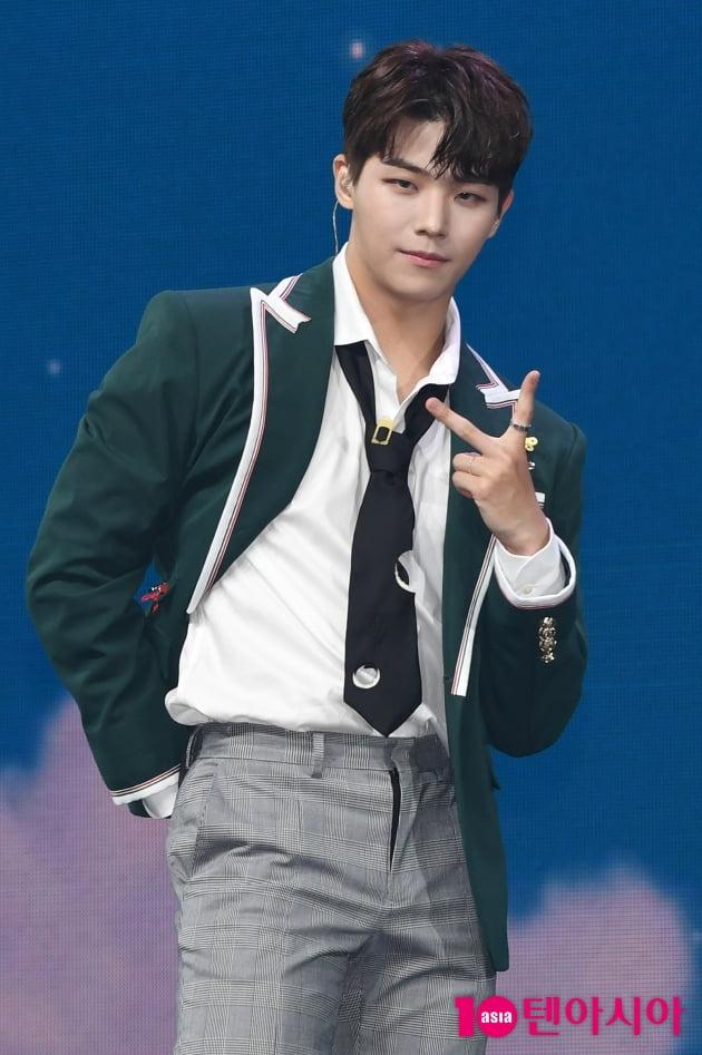 [TEN 포토] 고스트나인 손준형 '멋진 리더의 눈빛'
