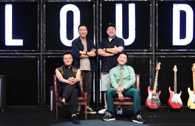 '라우드' 박진영(왼쪽 아래, 반시계방향) 싸이 이환진 박성훈 / 사진=SBS 제공