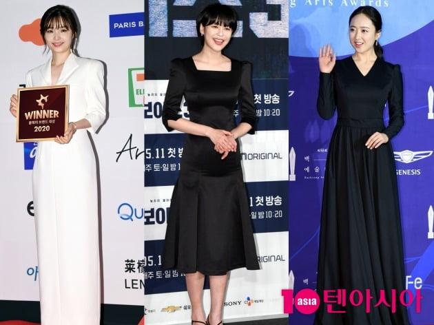 배우 전미도(왼쪽부터), 이하나, 김민정. /텐아시아DB