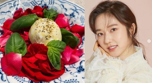 '전현무♥' 이혜성, 41kg 비결 식단은? 꽃으로 만든 샐러드[TEN★]