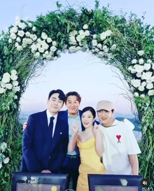 """윤민수, 벤♥이욱 결혼식서 오열왕등극...""""그녀가 떠났다""""[TEN★]"""