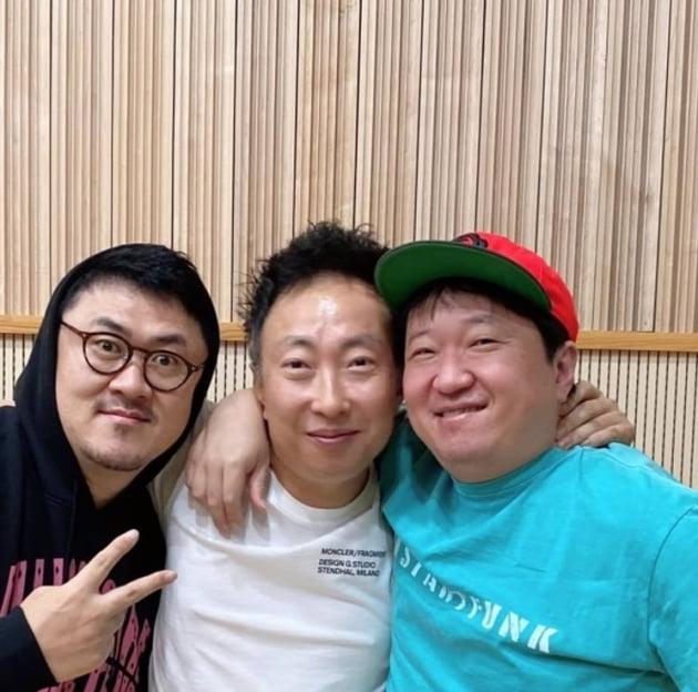 박명수, 데프콘&정형돈 넘 반가워~♥[TEN★]