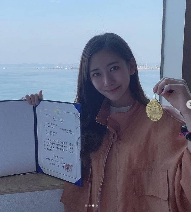 '박찬민 딸' 박민하, 개인 신기록 경신..사격대회 은메달 수상 와우![TEN★]