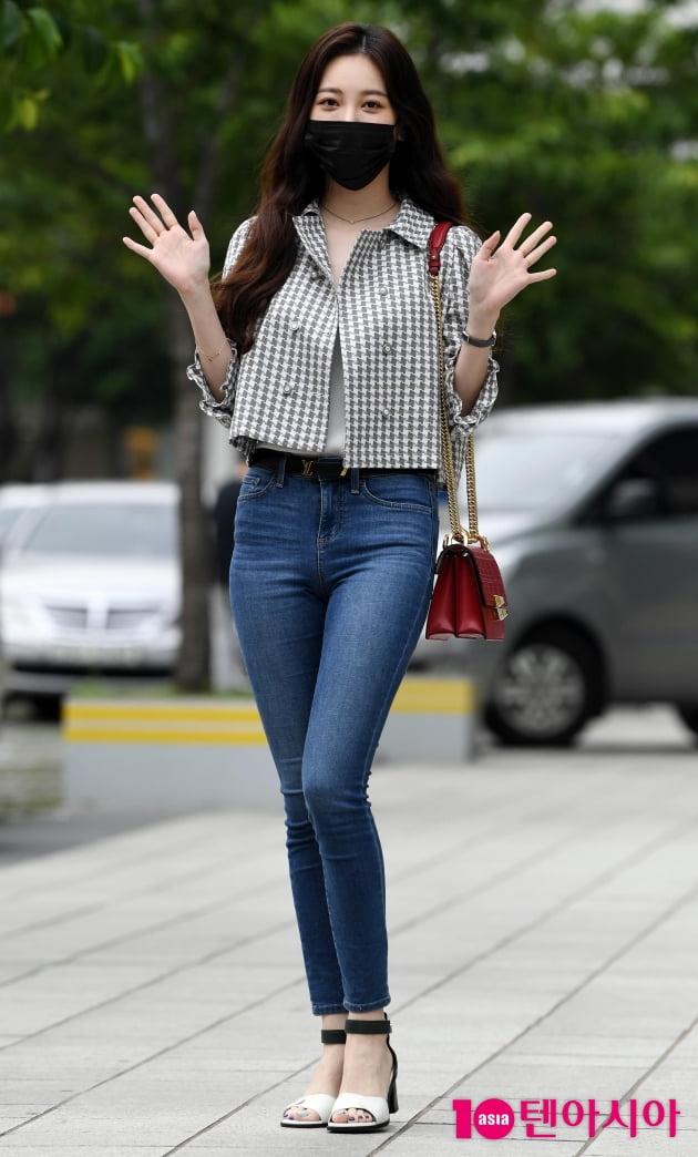 [TEN 포토] 유라 ' '영스트리트' 스페셜 DJ가 왔어요'
