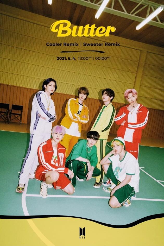방탄소년단 'Butter' Cooler_Remix 티저/ 사진=빅히트엔터테인먼트 제공