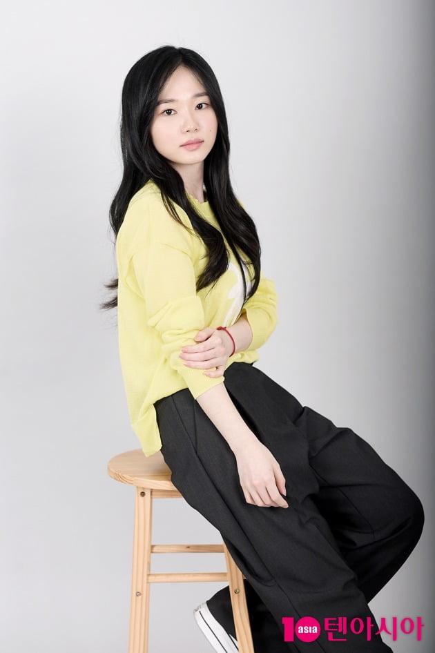 OCN 드라마 '다크홀'에서 무지고교 학생 한동림 역으로 열연한 배우 오유진. /서예진 텐아시아 기자 yejin@