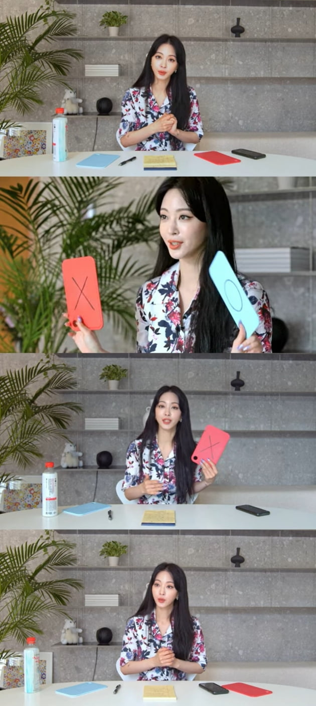 배우 한예슬/ 사진=유튜브 캡처