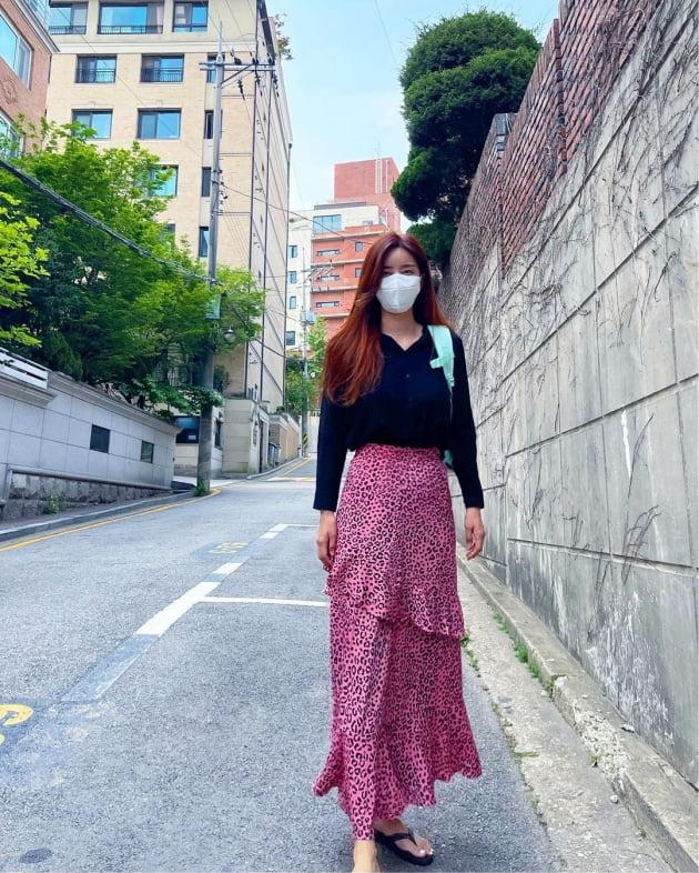 박솔미, 등원룩엔 핫핑크 호피무늬…이 유치원 엄마 중 젤 예뻐 [TEN★]