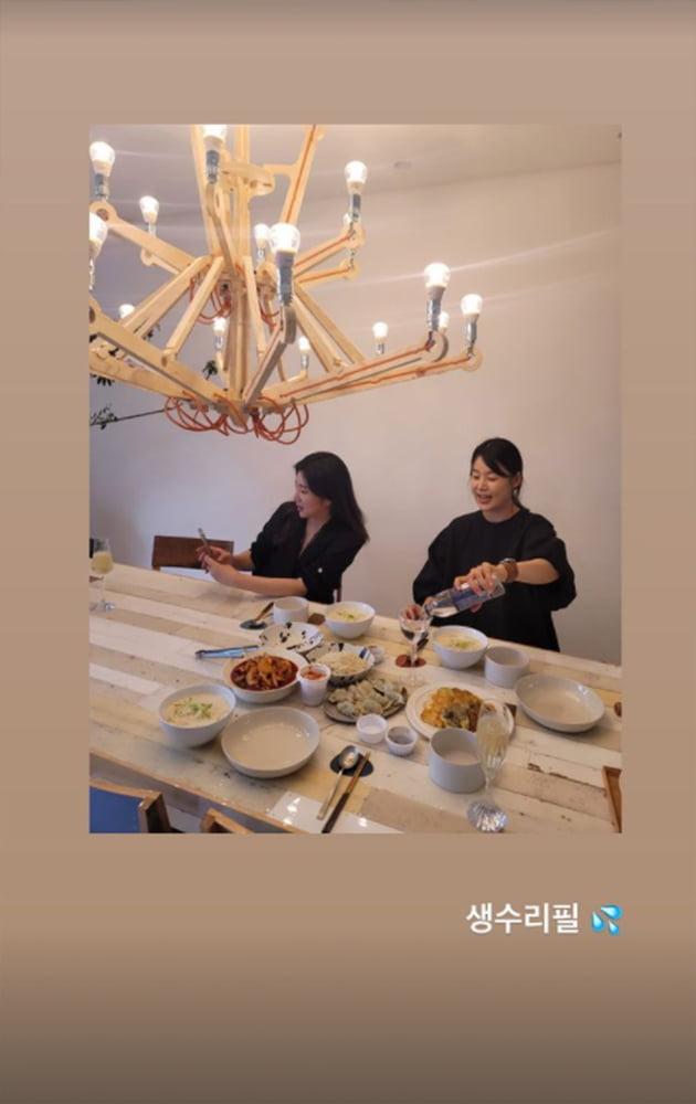 """'검사♥' 한지혜, 만삭이라 """"생수로 짠""""…6월 말 출산 예정 [TEN★]"""