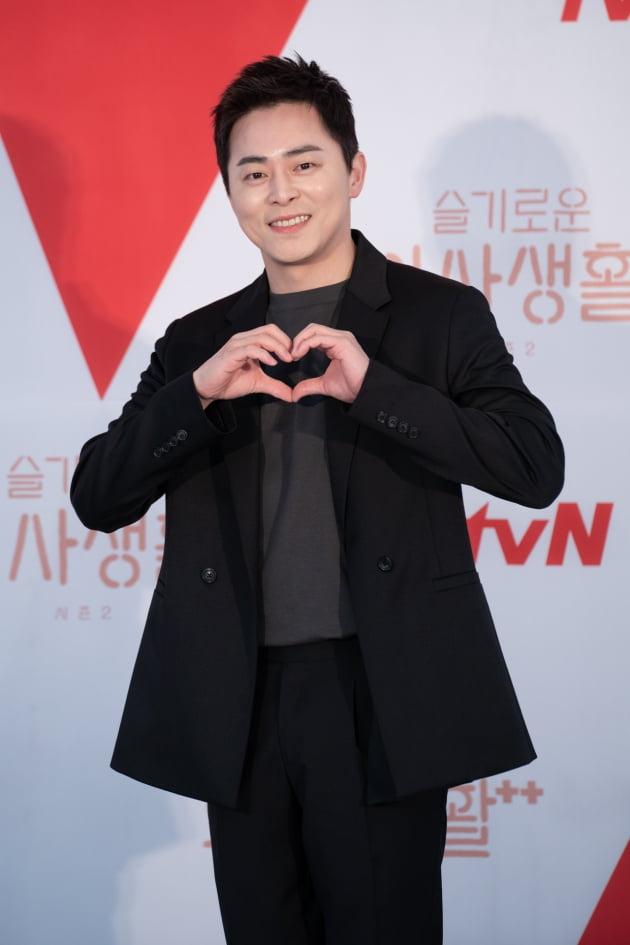 배우 조정석이 10일 오후 온라인 생중계된 tvN 새 목요드라마 '슬기로운 의사생활 시즌2' 제작발표회에 참석했다. /사진제공=tvN