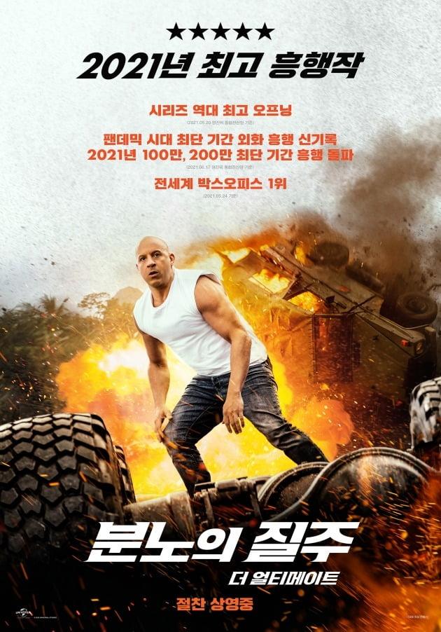 영화 '분노의 질주: 더 얼티메이트' 포스터 / 사진제공=유니버셜 픽쳐스