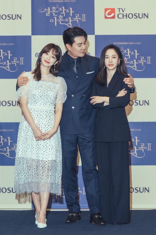 '결사곡2' 송지인, 이태곤, 박주미./사진제공=TV조선