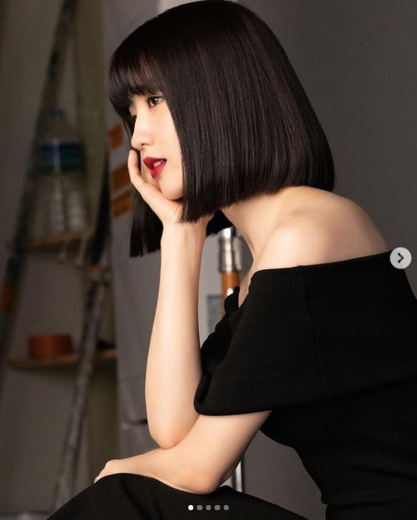 '♥류수영'박하선, 미모 포텐 터지는 상큼 단발머리 [TEN★]