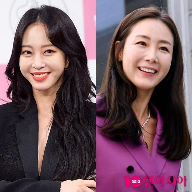 배우 한예슬(왼쪽), 최지우. /텐아시아DB
