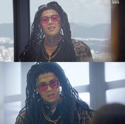 박은석 '펜하3' 하차 아니었다…레게머리+문신 재등장