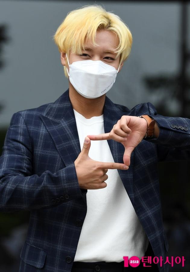 [TEN 포토] 박지훈 '내마음속에 저장'