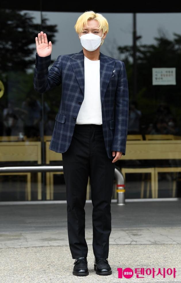 [TEN 포토] 박지훈 '오랜만에 인사드려요'