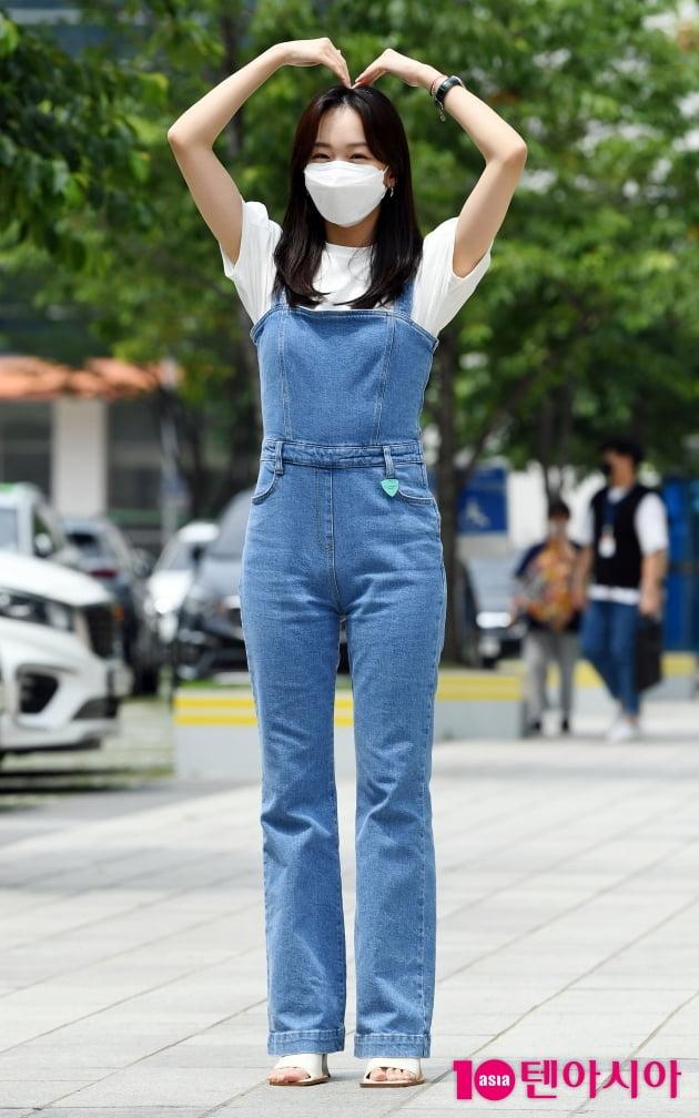 [TEN 포토] 진기주 '영화 '미드나이트' 사랑이 필요합니다'
