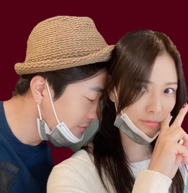 권상우♥손태영, 여유가 넘치는 놀이터[TEN★]