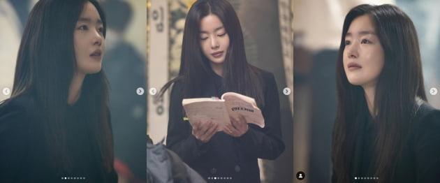한선화, 굿바이 '언더커버'...돋보이는 청순미모[TEN★]