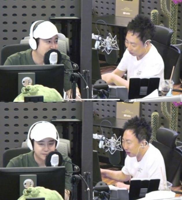 /사진=KBS 쿨FM '박명수의 라디오쇼' 방송화면