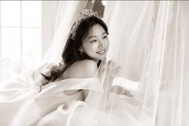 하연주, 로맨틱한 6월의 신부의 행복미소[TEN★]