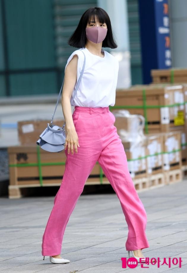 [TEN 포토] 박하선 '출근하는 목동여신'