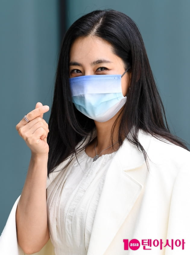 [TEN 포토] 한채아 '아름다운 하트'