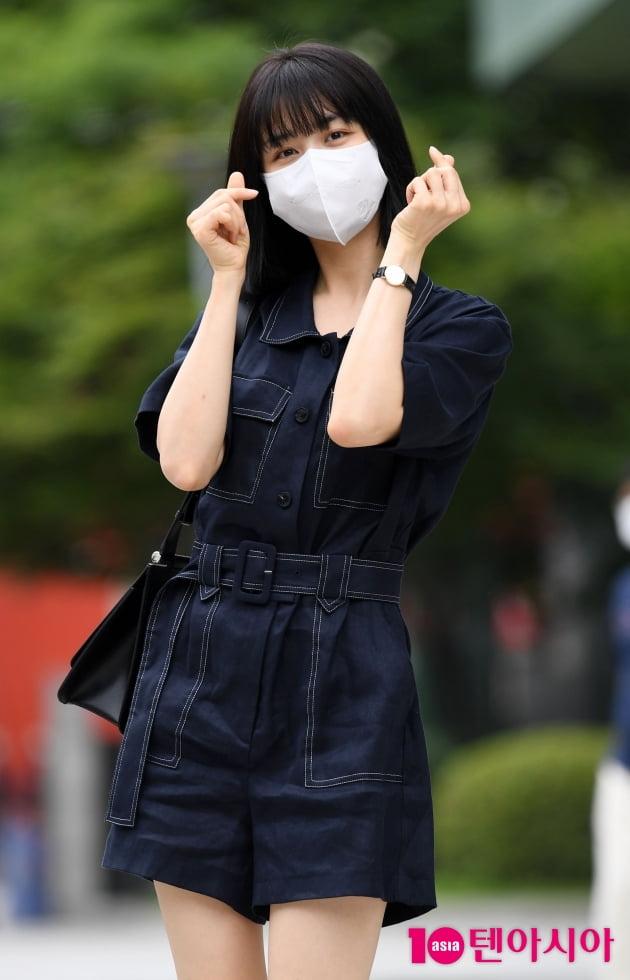 [TEN 포토] 박하선 '깜찍한 하트~'