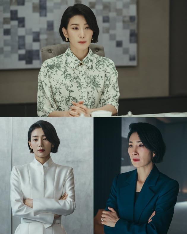 김서형/사진=tvN 주말드라마 '마인' 스틸