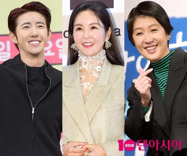 가수 광희(왼쪽부터) 방송인 장영란, 홍진경/ 사진=텐아시아DB