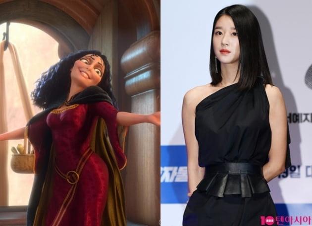 영화 '라푼젤' 스틸, 배우 서예지./ 사진=네이버무비, 텐아시아DB