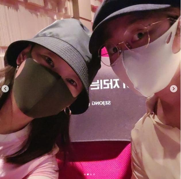 한혜진 박나래 / 사진 = 한혜진 인스타그램