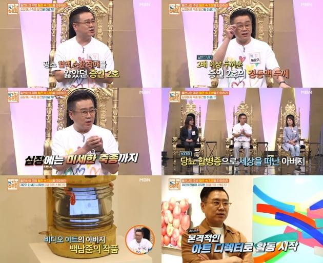 '대한민국 1% 건강청문회' 이광기./ 사진=MBN방송화면