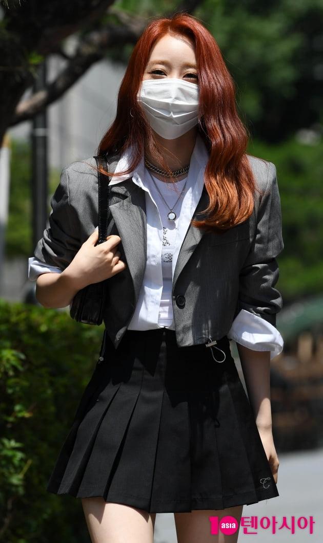 [TEN 포토] 우주소녀 연정 '신비로운 헤어컬러'
