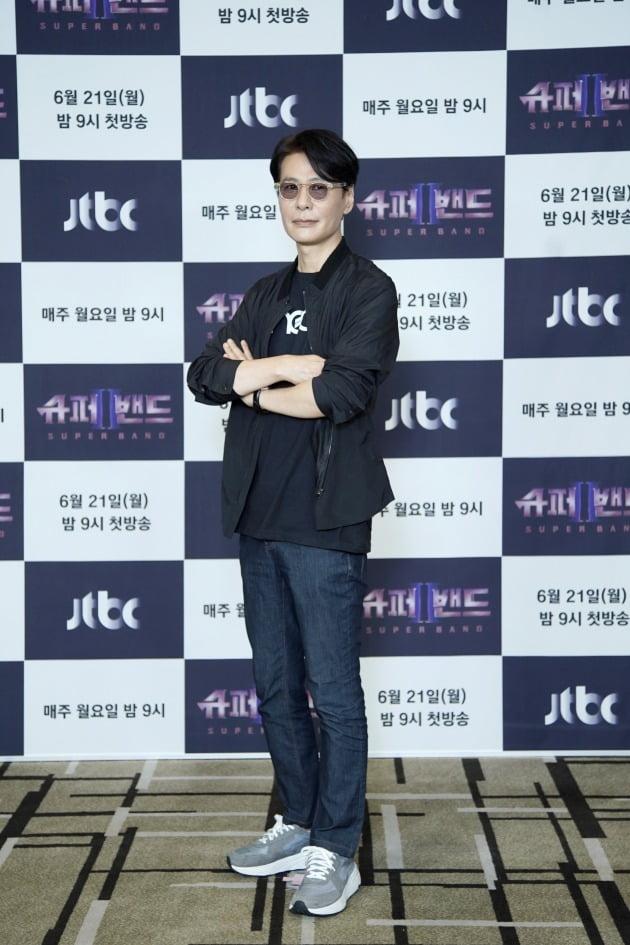 '슈퍼밴드2' 윤상/ 사진=JTBC 제공