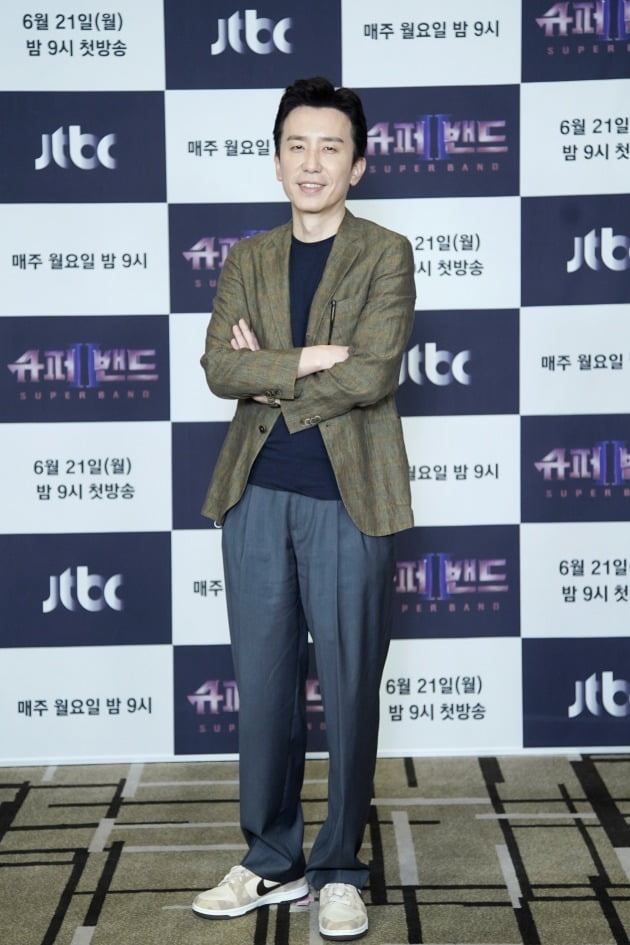 '슈퍼밴드2' 유희열/ 사진=JTBC 제공