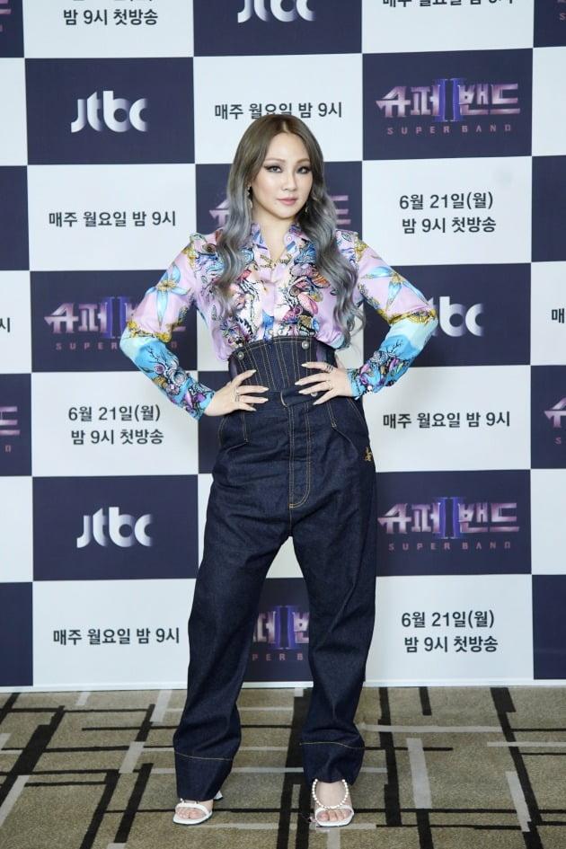 '슈퍼밴드2' CL/ 사진=JTBC 제공