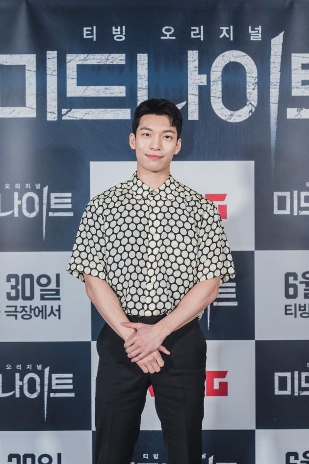배우 위하준이 21일 열린 영화 '미드나이트' 언론시사회에 참석했다. / 사진제공=CJ ENM