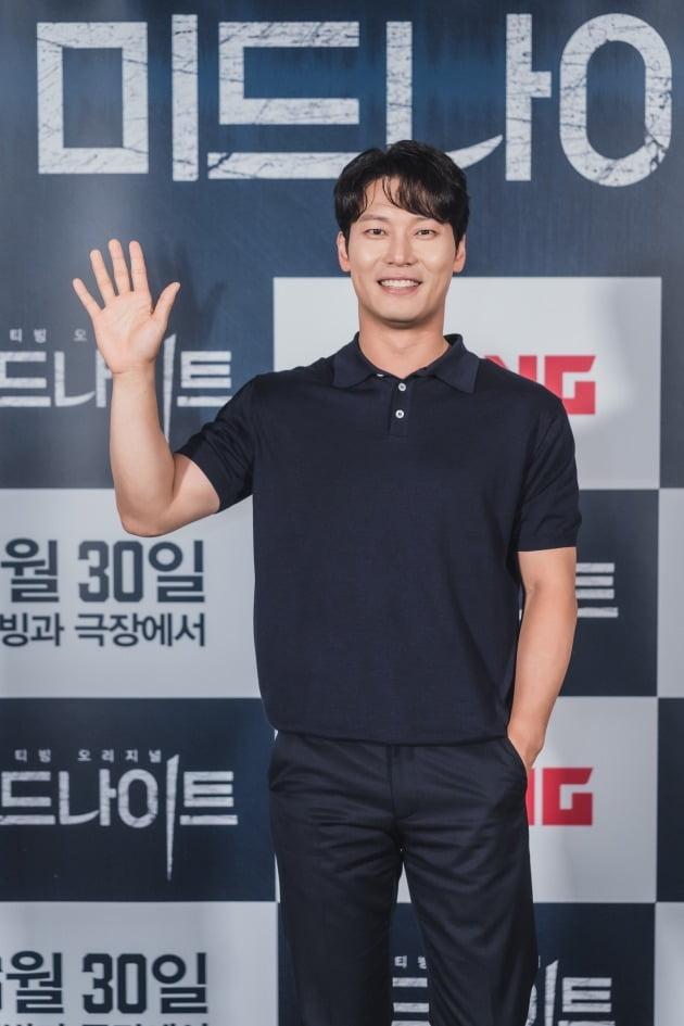 배우 박훈이 21일 열린 영화 '미드나이트' 언론시사회에 참석했다. / 사진제공=CJ ENM