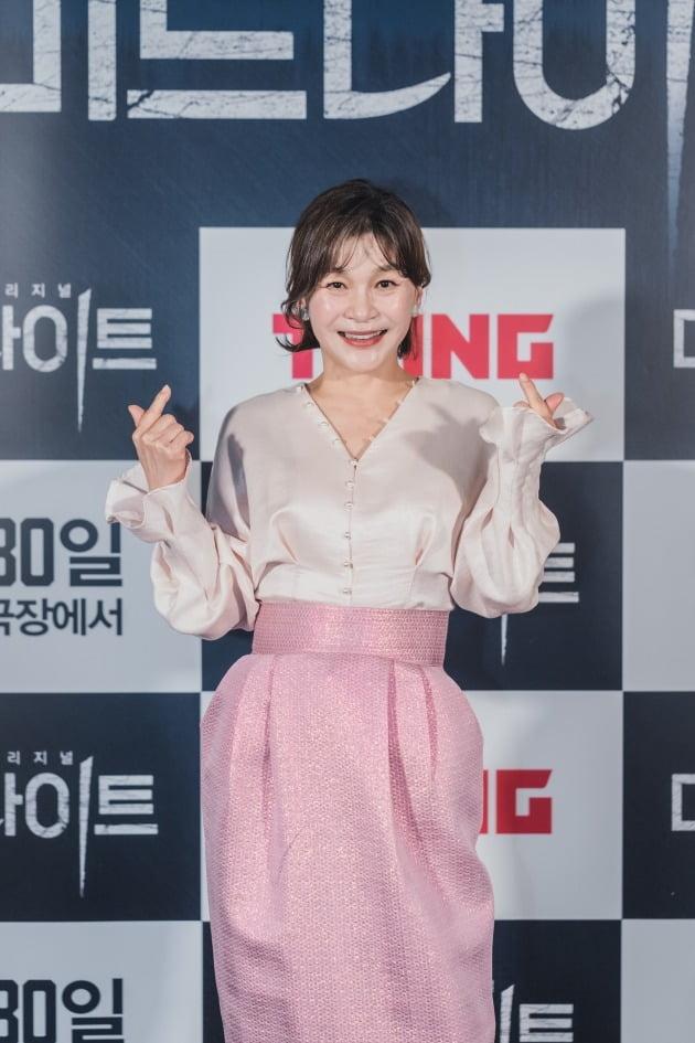 배우 길해윤이 21일 열린 영화 '미드나이트' 언론시사회에 참석했다. / 사진제공=CJ ENM