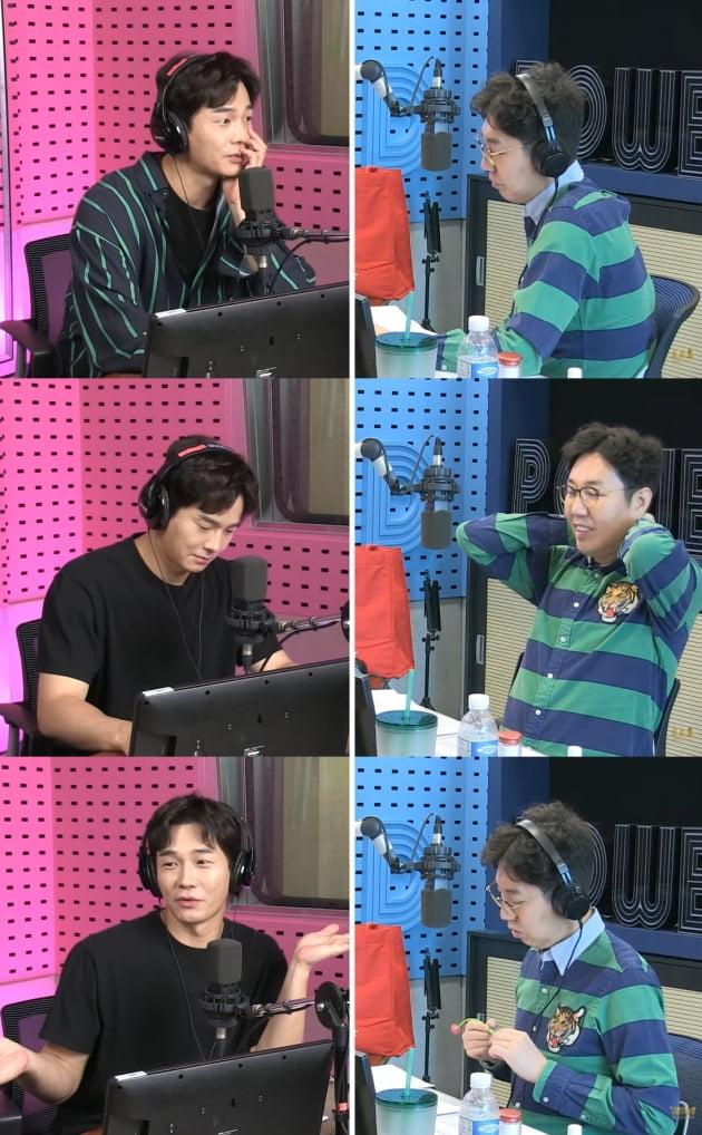 김영철의 '파워FM' 보이는 라디오./