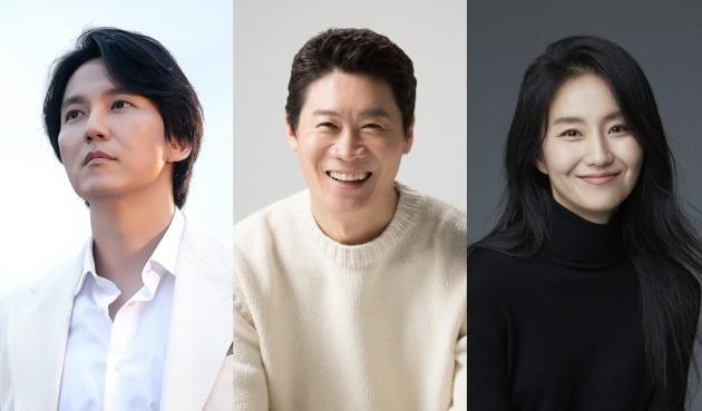 배우 김남길(왼쪽부터), 진선규, 김소진/ 사진=각 소속사 제공