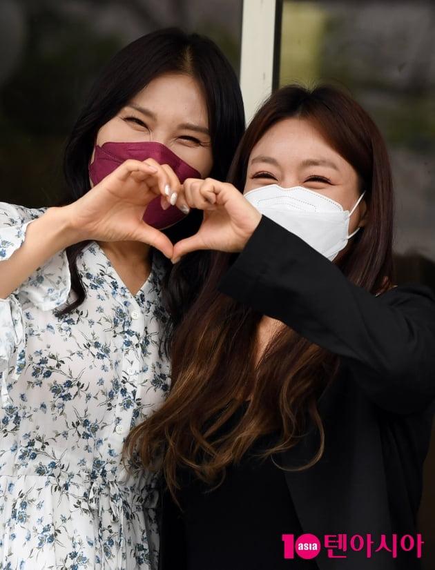 [TEN 포토] 빅마마 신연아-이영현 '행복한 미소'