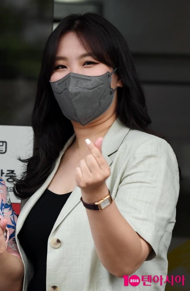 [TEN 포토] 빅마마 민혜 '사랑스러운 손하트'