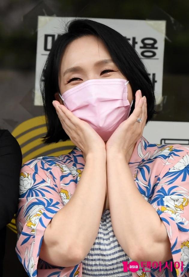 [TEN 포토] 빅마마 이지영 '다정한 눈맞춤'