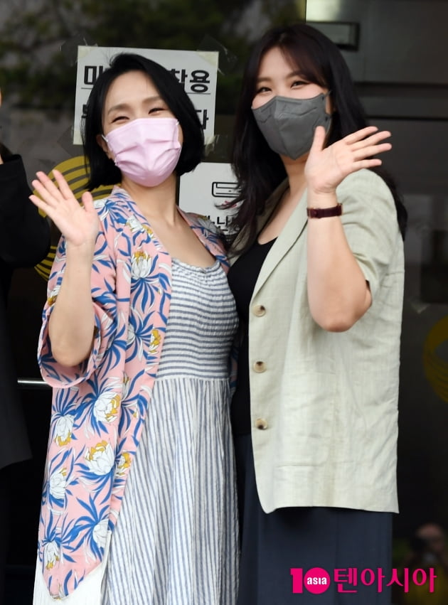 [TEN 포토] 빅마마 이지영-민혜 '재결합의 기쁨미소'