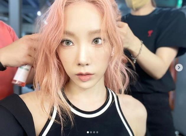 태연, 핑크여신 너는 어느 별에서 왔니?[TEN★]